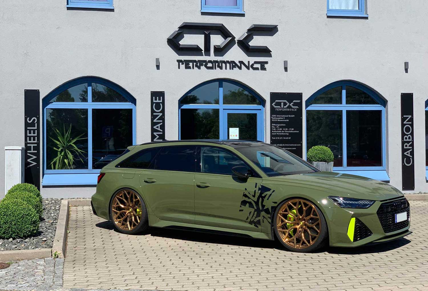 23 Zoll und 1000PS am Audi RS6??