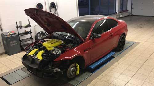 BMW M3 E92 Kompressor